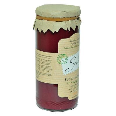 Kızılcık Marmelatı Cam Kavanoz 575 Gr