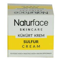 Naturface - Kükürt Krem Adaçayı Yağlı Cilt Bakımı Sulfur Cream 20 ML Görseli
