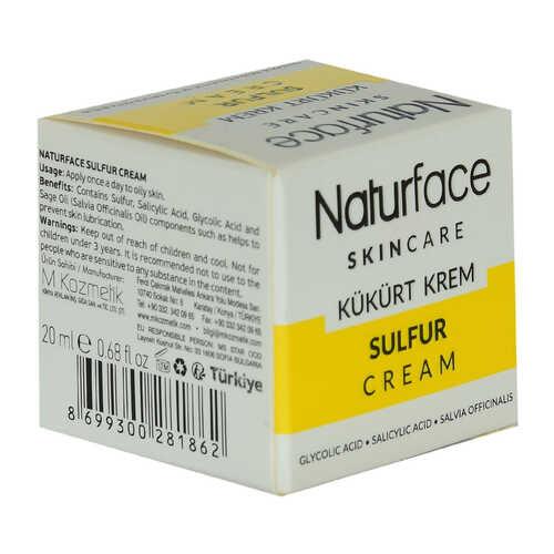 Kükürt Krem Adaçayı Yağlı Cilt Bakımı Sulfur Cream 20 ML