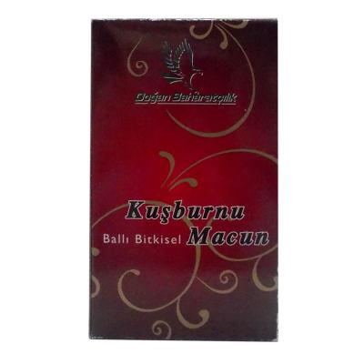 Kuşburnulu Ballı Bitkisel Karışım Cam Kavanoz 450 Gr