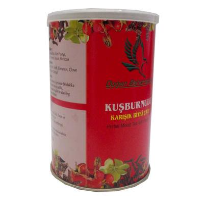 Kuşburnulu Karışık Bitkisel Çay 100 Gr Teneke Kutu