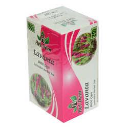 Hel-Dem - Lavanta Bitki Çayı 2 Gr x 20 Süzen Poşet 40 Gr Görseli