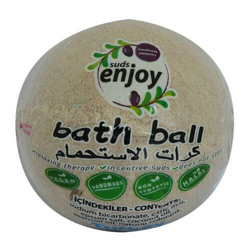 Lavantalı El Yapımı Banyo Bombası Banyo Topu Mor 90-120 Gr