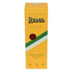 Rebul - Limon Kolonyası 80 Derece Cam Şişe 270 ML 125. Yıl Özel Sweet Lemon (1)