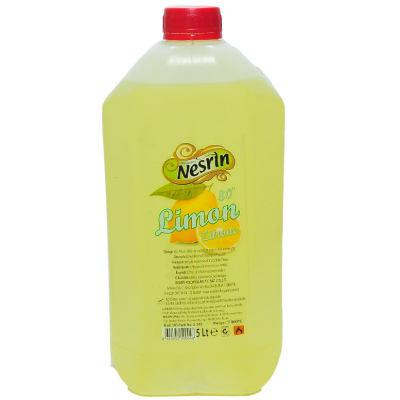 Limon Kolonyası 80 Derece Pet Bidon 5 Lt