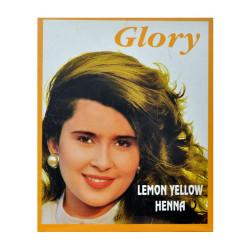 Glory - Limon Sarı Hint Kınası 10 Gr Paket Görseli