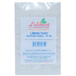 LokmanAVM - Limon Tuzu Granül Çakıl 50 Gr Paket (1)