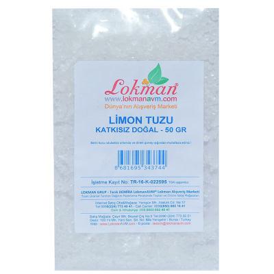 Limon Tuzu Granül Çakıl 50 Gr Paket