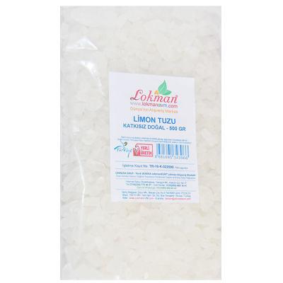 Limon Tuzu Granül Çakıl 500 Gr Paket