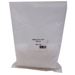 LokmanAVM - Yemeklik Himalaya Kristal Çakıl Kaya Tuzu Beyaz 1000 Gr Görseli