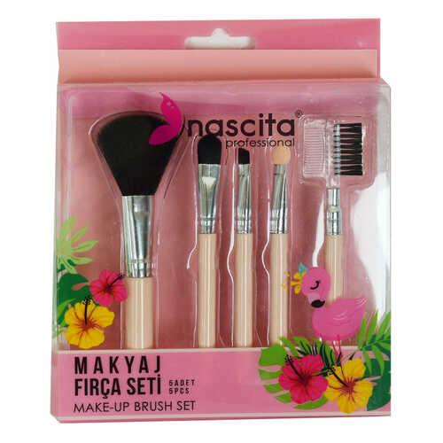 Makyaj Fırça Seti 5 Li Make-Up Brush Set Professional