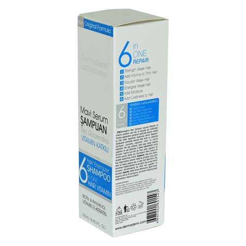 Mavi Serum Şampuanı Saç Güçlendirici (Biotin Panthenol Vitamin E-Keratin) 250 ML