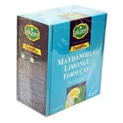 Akzer - Maydanozlu ve Limonlu Bitkisel From Çay 60 Süzen Poşet Görseli