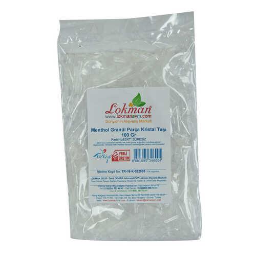 Menthol Granül Parça Kristal Taşı 100 Gr