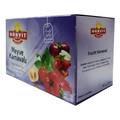 Meyve Karnavalı Karışık Bitki Çayı 20 Süzen Poşet