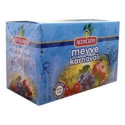 Meyve Karnavalı Karışık Meyve Çayı 20 Süzen Pşt - Thumbnail