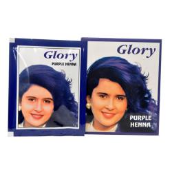 Mor Hint Kınası (Purple Henna) 10 Gr Paket - Thumbnail