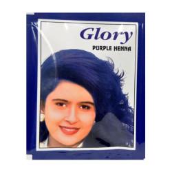 Glory - Mor Hint Kınası (Purple Henna) 10 Gr Paket Görseli