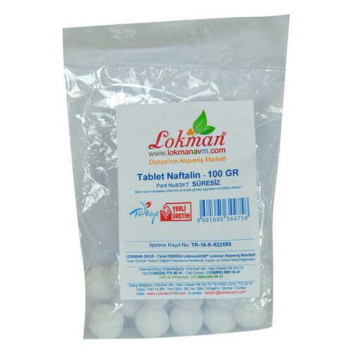 Naftalin Bilya Tablet 100 Gr Paket
