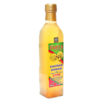 Katkısız Enginar Sirkesi Cam Şişe 500 ML