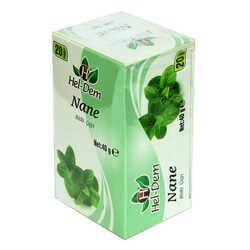 Hel-Dem - Nane Bitki Çayı 2 Gr x 20 Süzen Poşet 40 Gr (1)