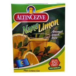 Nane Limon Aromalı Tek İçimlik İçecek Tozu 1.5 Gr X 60 Pkt - Thumbnail