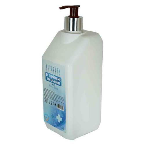 Nivaderm El Temizleme Solüsyonu %70 Alkol Bazlı Pompalı 1 Lt