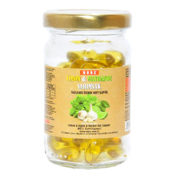 Nurs - Limon Maydanoz Sarımsak Kürü 60 Kapsül (1)