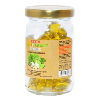 Limon Maydanoz Sarımsak Kürü 60 Kapsül