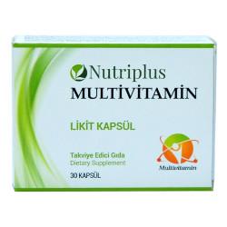 Nutriplus Multivitamin Likit 30 Kapsül - Thumbnail