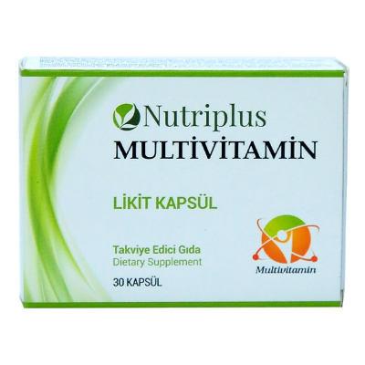 Nutriplus Multivitamin Likit 30 Kapsül