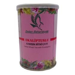 Okaliptuslu Karışık Bitkisel Çay 100 Gr Teneke Kutu - Thumbnail
