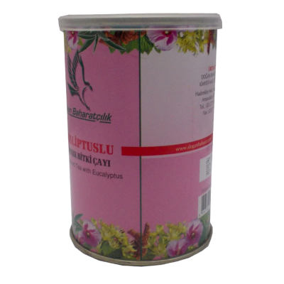 Okaliptuslu Karışık Bitkisel Çay 100 Gr Teneke Kutu