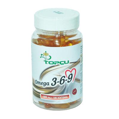 Omega 3-6-9 1000 Mg x 100 Yumuşak Jel