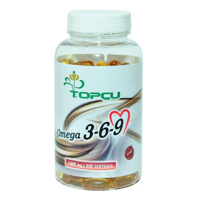 Omega 3-6-9 1000 Mg x 200 Yumuşak Jel