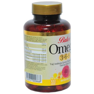 Omega 3-6-9 1585 Mg x 100 Yumuşak Kapsül