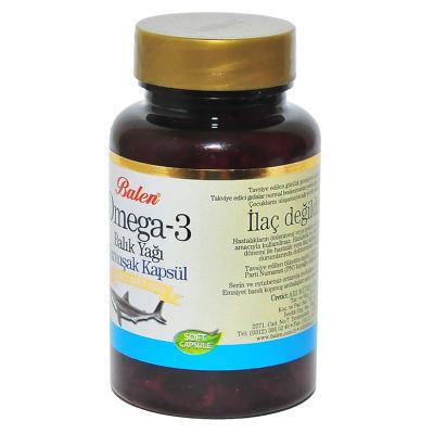 Omega-3 Balık Yağı 100 Kapsül