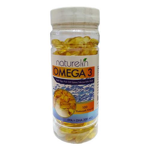 Omega 3 Balık Yağı İçeren Gıda 100 Kapsül
