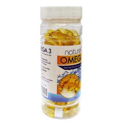 Omega 3 Balık Yağı İçeren Gıda 100 Kapsül - Thumbnail
