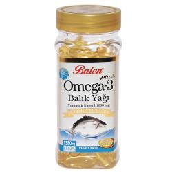 Omega-3 Plus+ Balık Yağı 100 Kapsül - Thumbnail