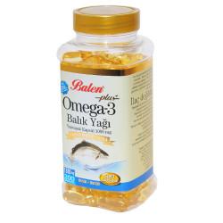 Omega-3 Plus+ Balık Yağı 200 Kapsül - Thumbnail