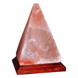 LokmanAVM - Piramit Şekilli Doğal Himalaya Tuzu Lambası Kablolu Ampullü Pembe 3-4Kg Görseli