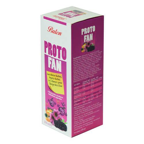 ProtoFan Kara Mürver Propolis Ekstratlı C Vitaminli Takviye Edici Gıda 150 ML