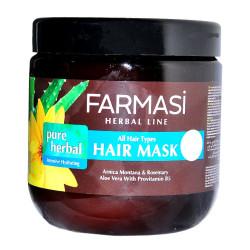 Pure Herbal Nemlendirici Saç Maskesi 500 ML - Thumbnail