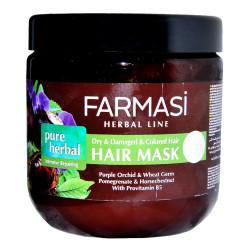 Pure Herbal Onarıcı Saç Maskesi 500 ML - Thumbnail