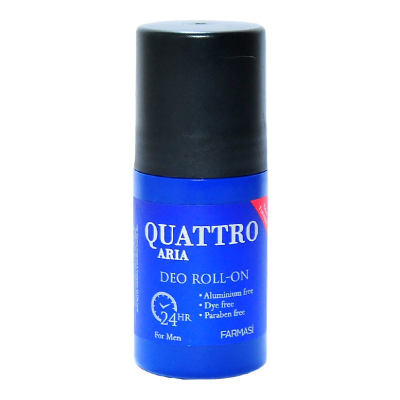 Quattro Aria Deo Roll-On For Men 50 ML