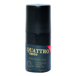 Quattro Vento Deo Roll-On For Men 50 ML - Thumbnail