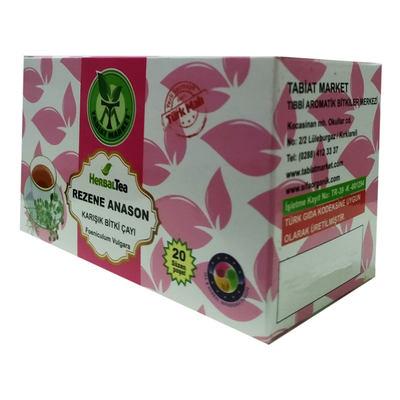 Rezene Anason Karışık Bitki Çayı 20 Süzen Poşet
