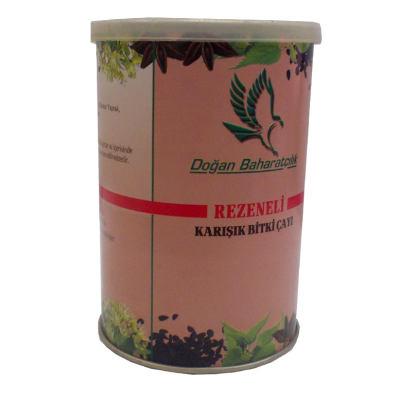 Rezeneli Karışık Bitkisel Çay 100 Gr Teneke Kutu