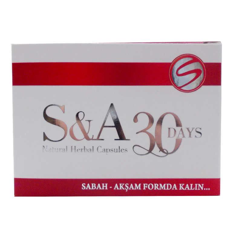 HHS SA 30DAYS BİTKİSEL 60KAPSÜL
